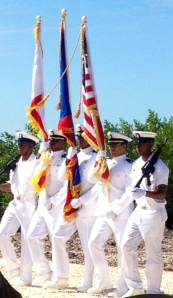 Marching Coast Guard